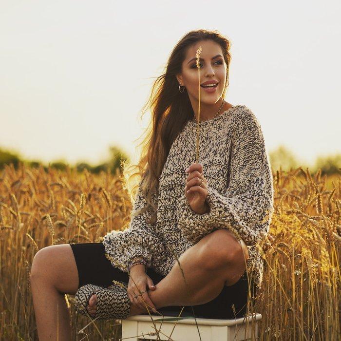 Sweter wegański SPIRIT